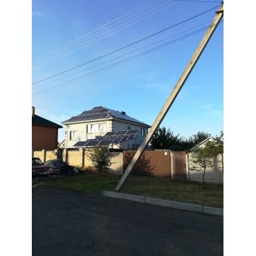 Солнечная станция 15 кВт. г. Черкассы