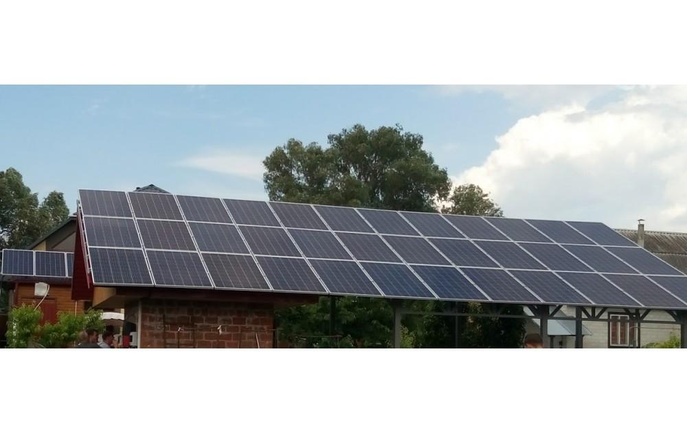 Солнечная станция 10 кВт г. Черкассы