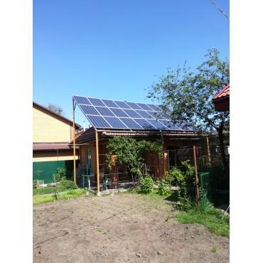 """10 кВт Солнечная станция """"Зелёный тариф"""""""