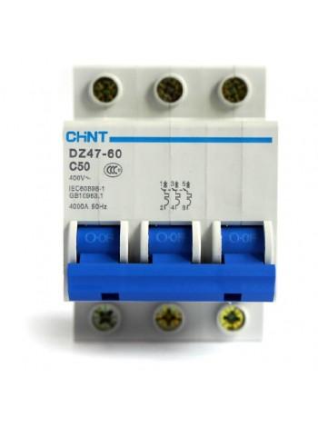 Выключатель DZ47 -60 3р 63А D