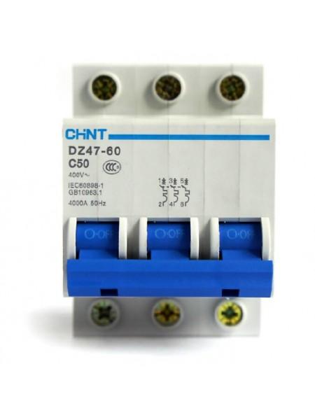 Выключатель DZ47 -60 3р 25А