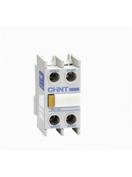 Дополнительный контакт F4-02 к NC1 и NC2