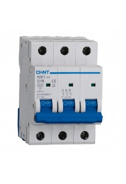 Выключатель NB1-63 3 р 25 А х-ка D