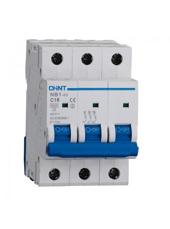 Выключатель NB1-63 3 р 50 А х-ка D