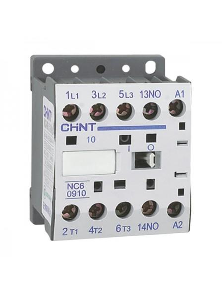 Контактор NC6-0610 6А 220В 50Гц (CHINT) 1НО