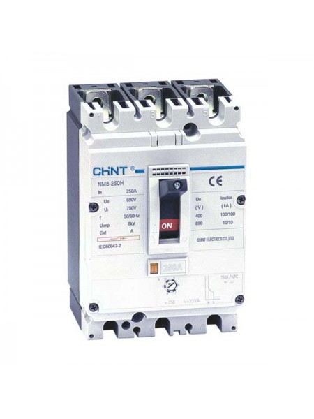 Автоматический выключатель NM8S-400S 3Р 250А 70кА с электронным расцепителем